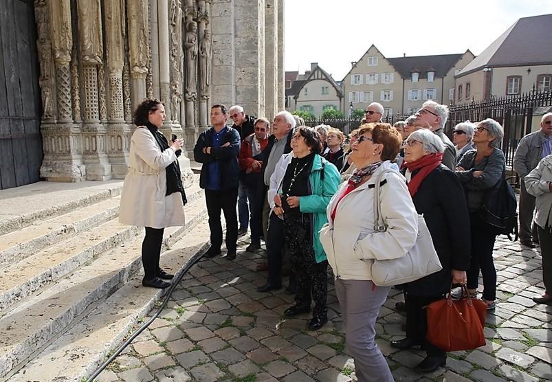 Visites guidées à Chartres pour individuels et groupes