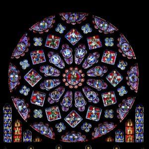 Rose nord de la cathédrale de Chartres